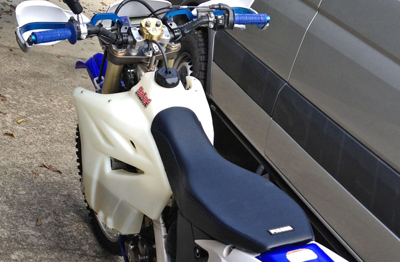 2015 WR450F Fisher seat
